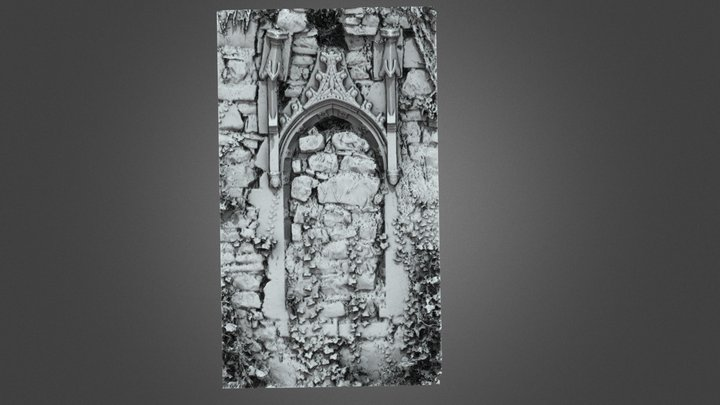Annaduff Church - E Window - LE032-054001 3D Model