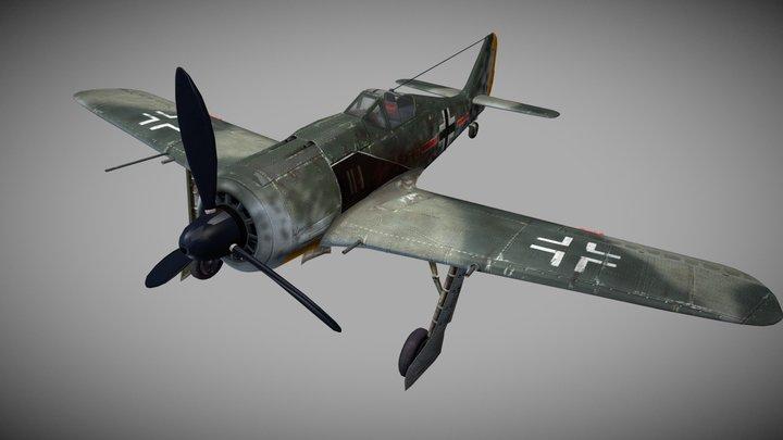 Focke-Wulf Fw 190 (A3) 3D Model