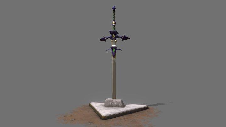 Master Greatsword 3D Model