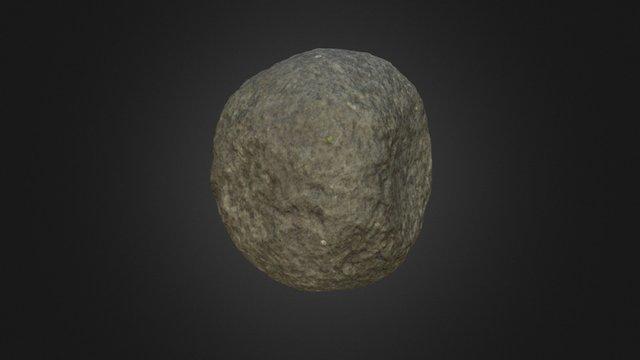Hammer stone / Percutor 3D Model
