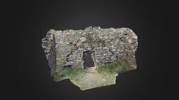 Killaspugbrone Church - Low Poly Photogrammetry 3D Model