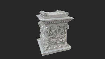 Roman altar / altar romano 3D Model