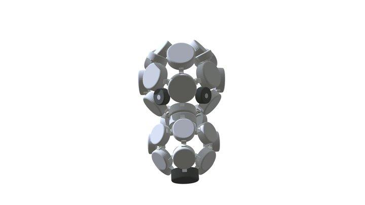 CLIP IT 3D -  POLAR BEAR MASK / MASQUE OURS 3D Model