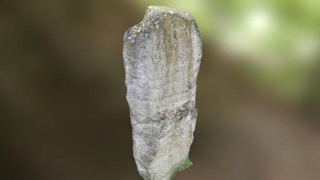 Bryn Celli Ddu Pattern Stone 3D Model