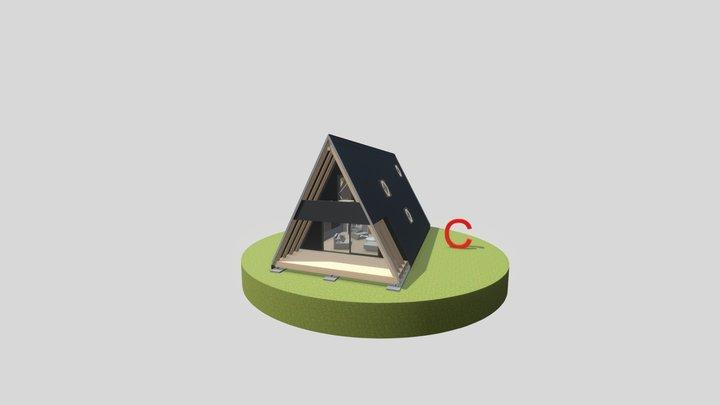 Új A ház_C verzió 3D Model