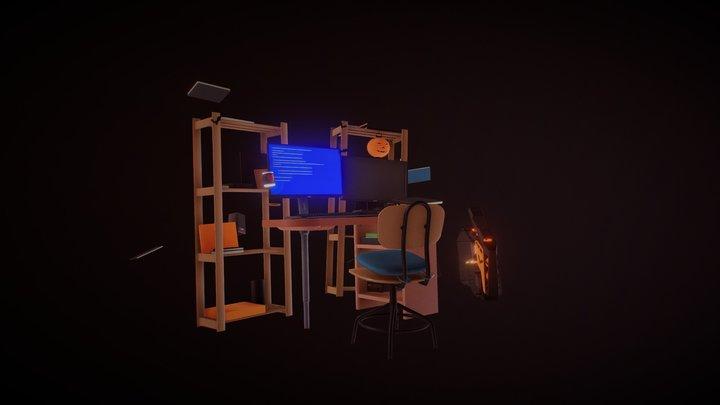 XYZ Home Work 01 Animate 3D Model