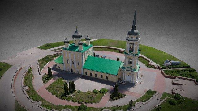 3d model Успенский Адмиралтейский храм г.Воронеж 3D Model