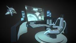 Drone Lab 3D Model