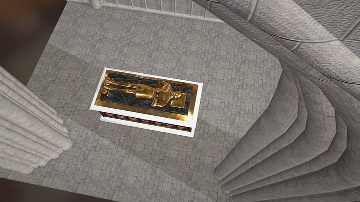 The Tomb of James II King of Scots 3D Model