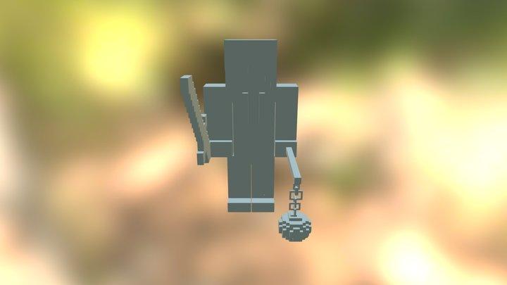 Bobby_avec_une_pioche_normale_!!! 3D Model