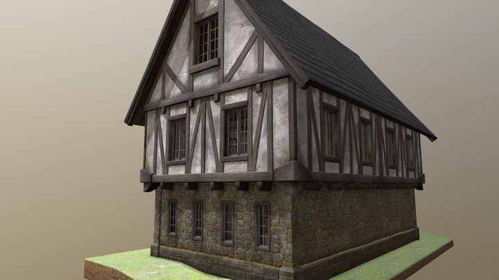 Fantasy medieval house 3D Model