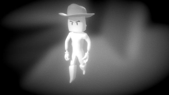 Jim Durango Idle complain mode 3D Model
