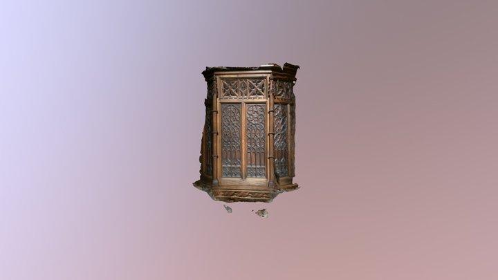 Cathedral blind 3D Model