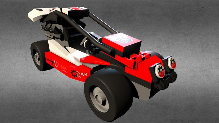 Lego Off Road Racer 3D Model