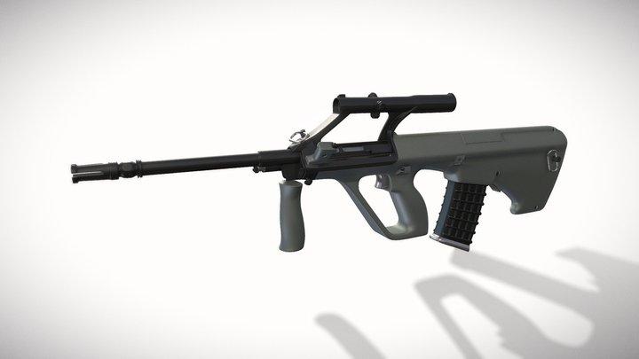 Steyr_Aug_A1 3D Model