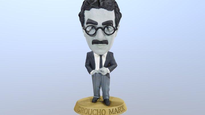 Groucho Marx bobblehead 3D Model