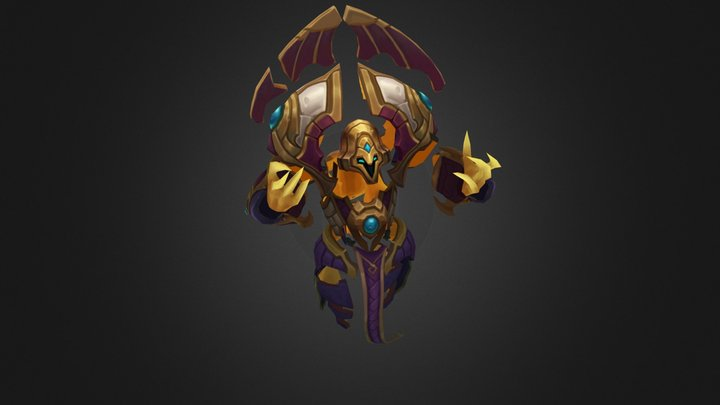 Guardian Of The Sand Xerath 3D Model
