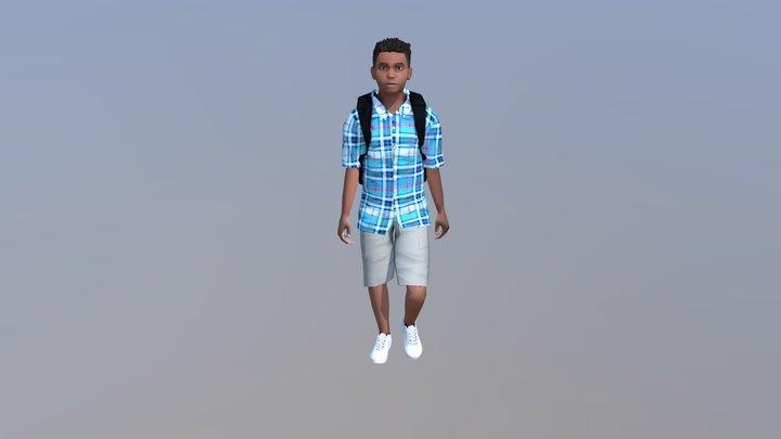 SSD2 KID BOY 2 V3 3D Model