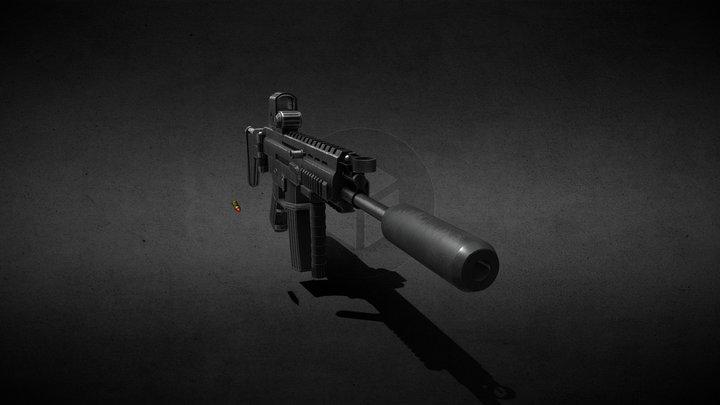 Scar-H Black 3D Model