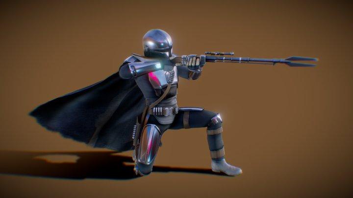 Mando - The Mandalorian 3D Model