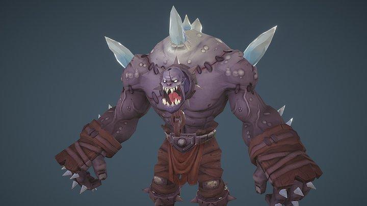Ice Troll 3D Model
