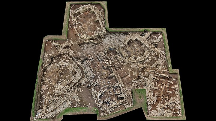 Ness of Brodgar 2015 Excavations 3D Model