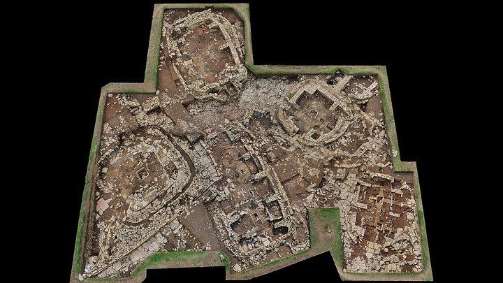 Ness of Brodgar 2015 Excavations 3D Model