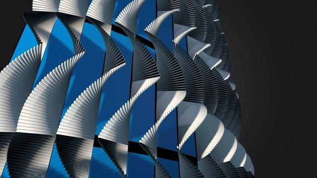 Genome Project - Iran,Shiraz 3D Model