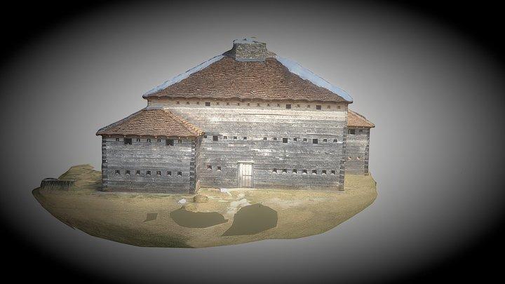 Fort Dobbs 3D Model