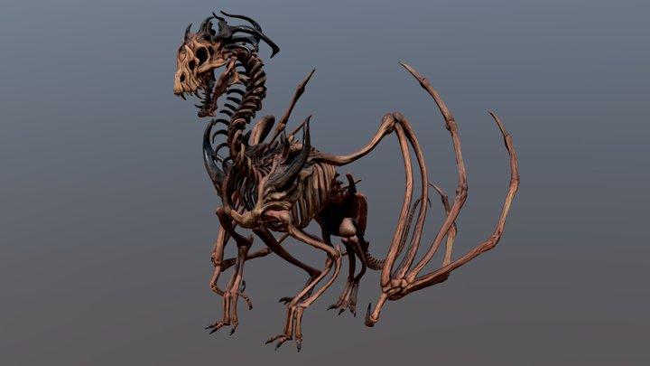Dracolich 3D Model