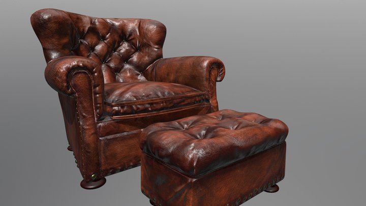 The Armchair Of My Dreams 3D Model