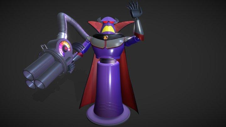 Emperor Zurg 3D Model
