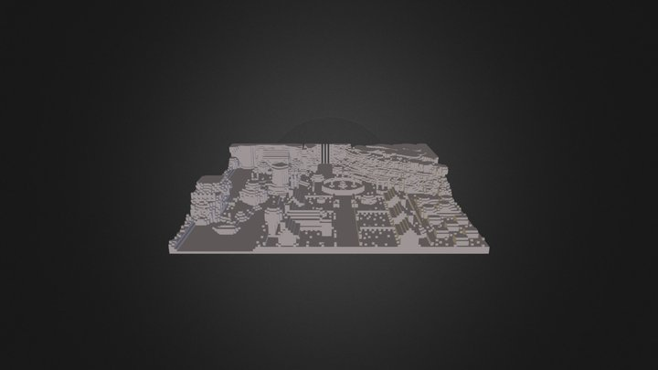 Village Scene Inland 5 3D Model