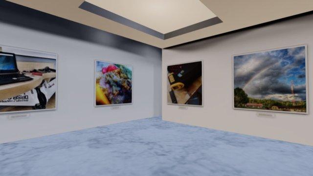 Instamuseum for @askelvin 3D Model
