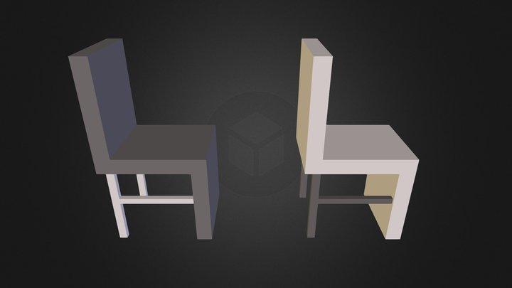 silla 3D Model