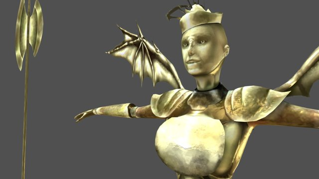 No-name character 3D Model