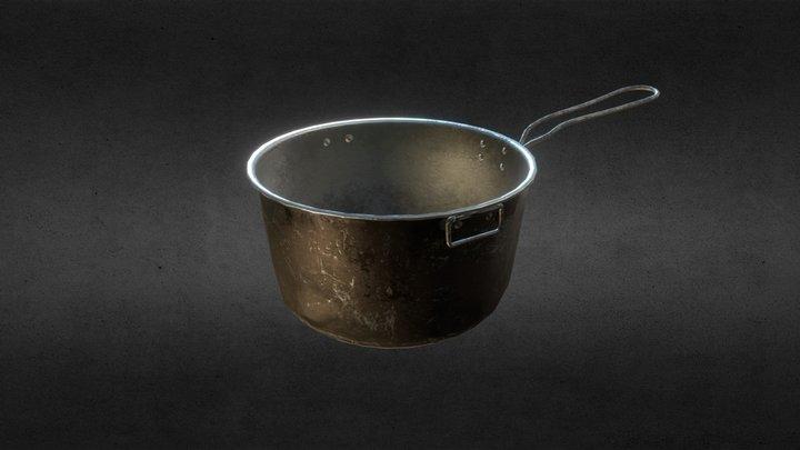 PBR Camping pot 3D Model