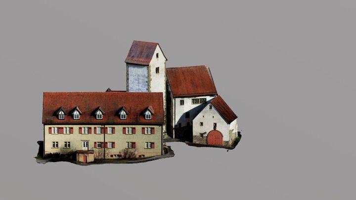 Schloß 3D Model