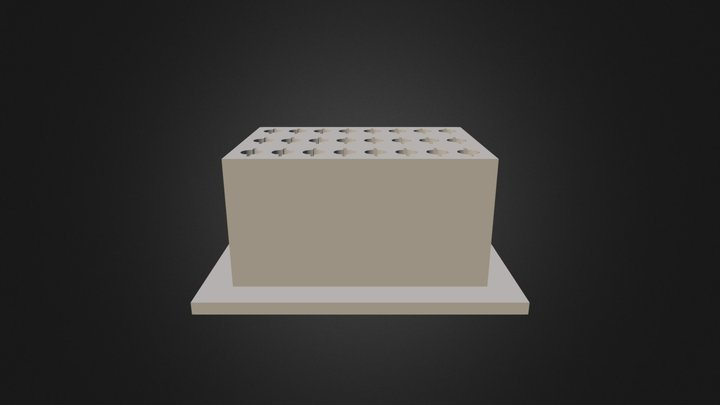 Plating Tips Support Bio Server 3D Model
