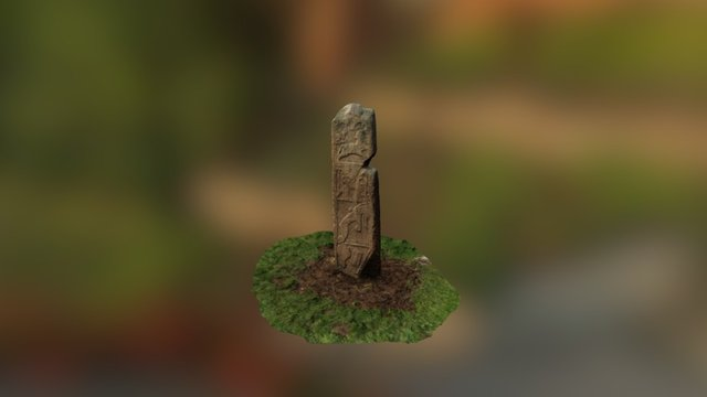 Maiden Stone 3D Model