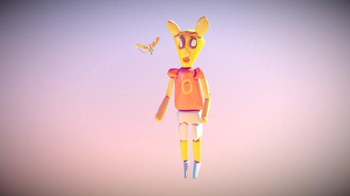 Alien Child 3D Model