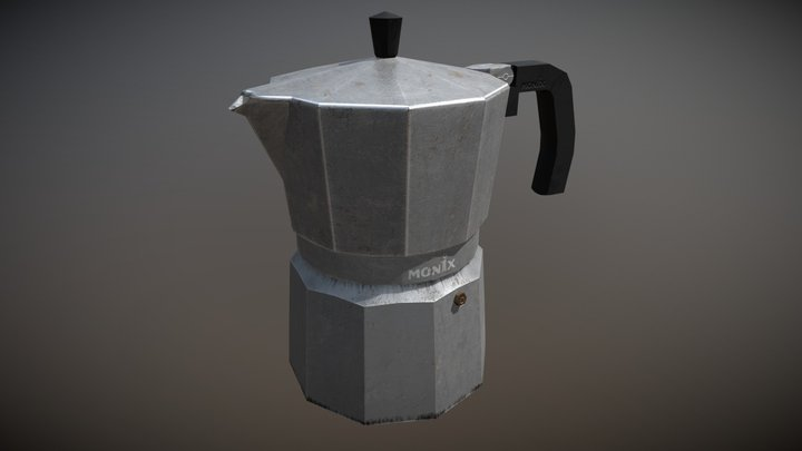 Coffee Percolator 3D Model