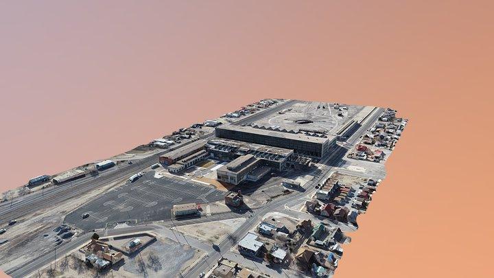 City of Albuquerque Rail Yards Full Site 3D Model