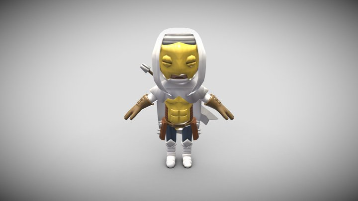 Chibi Leper 3D Model