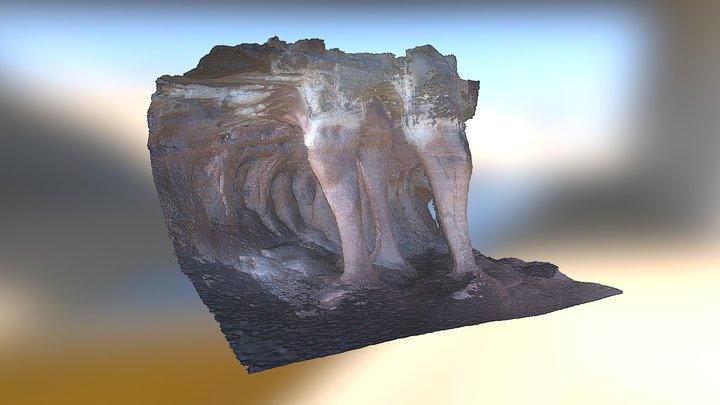 The columns of Imawarì Yeuta 3D Model