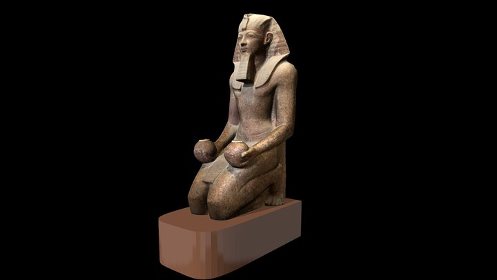Statue of Hatshepsut 3D Model