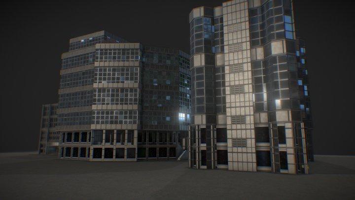 Mdec Buildings 3D Model