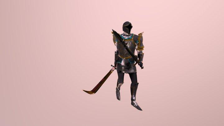 Duelist's Bow 3D Model