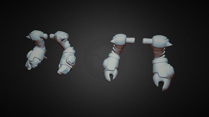 Hands test 30mar 2015 3D Model
