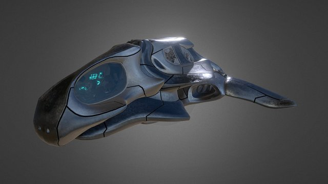 I_Ship 3D Model